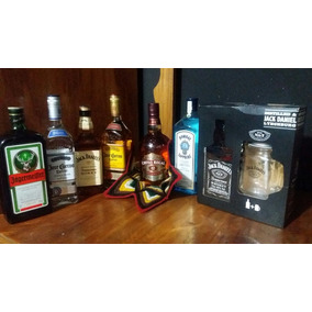 Gin Bombay Litro 100% Garantizado, Jager, Jose Cuervo,chivas
