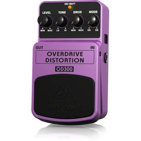 Behringer Pedal Para Guitarra Overdrive / Distortion Od300
