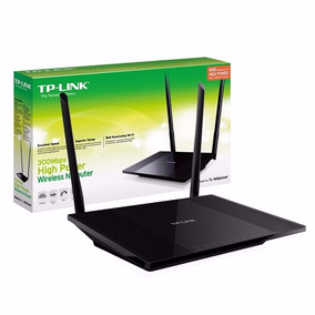 Router Repetidor Tp Link Tl-wr841hp Rompe Muros 9dbi Nuevo