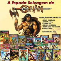 Conan Coleção Completa - Cerca De 700 Edições - Hqs Digitais