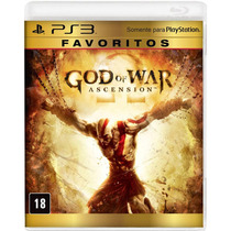Jogo God Of War: Ascension - Favoritos - Ps3