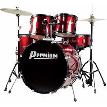 Bateria Musical Acústica Premium Dx722 Completa - Promoção