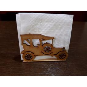 Paquete 10 Servilletero Decorativo Carcanchita En Mdf X Dhl