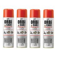 4 Orbicar Descarbonizante Spray Limpa Carburador Tbi Injetor