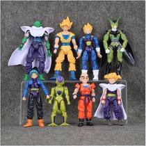 Bonecos Dragon Ball Z Articulados Conjunto Com 8 Unidades