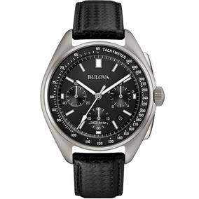 Reloj Bulova Edición Especial Moon Crono Para Hombre 96b251