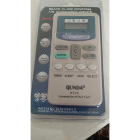 Control Remoto Minisplt Hitachi Cualquier Modelo