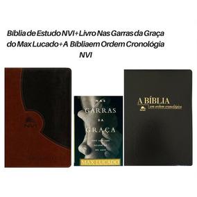 Bíblia De Estudo Nvi +bíblia Cronológica Nvi+ Livro