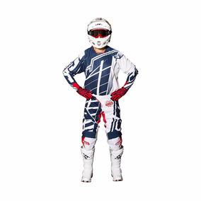 Kit Jt Racing Hyperlite Breaker Azul Blanco Arb Motocross