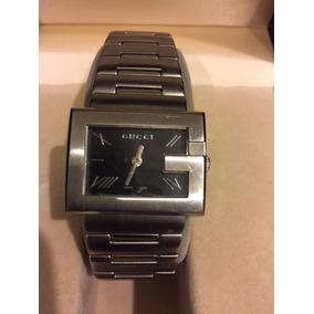 Reloj Gucci Acero Inoxidable Maquinaria Japonesa