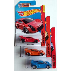 Hot Wheels Mastretta 3 Colores Auto Mexicano