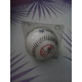 Pelota De Beisbol Grandes Ligas Yankess De New York