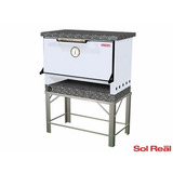 Horno Pizzero 6 Moldes Gas Natural Sol Real