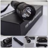 Lanterna Policial De Choque Autodefesa Imobilizadora 8000w