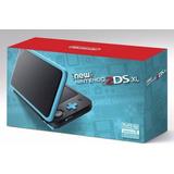 Nintendo Nuevo Nintendo 2ds Xl Negro + Turquesa