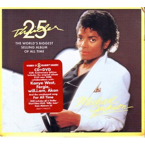 Jackson Michael - Thriller - 25th - Classic Cover (cd+dvd)s