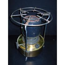 Calentador Antiguo De Bronce Marca Bram Metal A Kerosene
