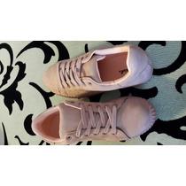 Zapato Color Rosa Vieja A La Moda 2016 Plataforma