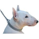 Collar Semi Ahorque Triple Cadena 2mm Largo 50cm Microcentro