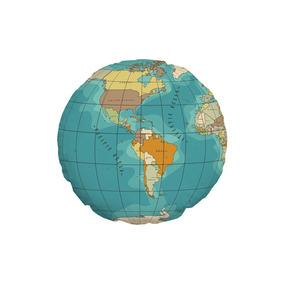 Almofada Mapa Mundi  Almofadas no Mercado Livre Brasil