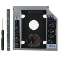 Adaptador Dvd Caddy Segundo Hd Ssd Note Dell Xps Acer Sti