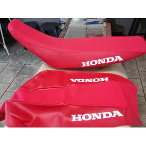 Capa De Banco Crf 230 Modelo Original Vermelha Escrito Honda