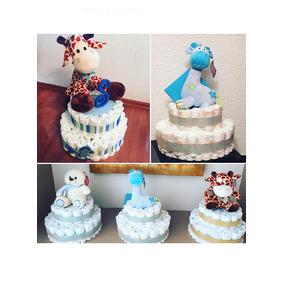 Diaper-cake/ Pastel De Pañales Baby Shower