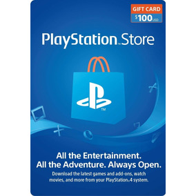 Playstation Network Psn Card $100usd Para Tienda Americana