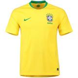 Camisa Seleção Do Brasil - Uniforme 1 - 2018 - Frete Grátis