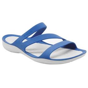 73878 Padrisimos Y Cómodos Crocs Originales Color Azul