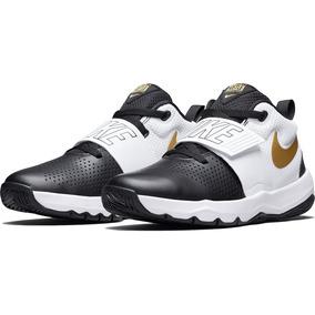 Tenis Nike Team Hustle Negro/drd Unisex Original 881941-009