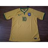 Camisa Futebol Oficial Brasil Copa Do Mundo - Pronta Entrega