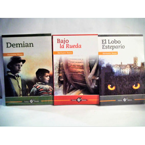 Lobo Estepario + Demian + Bajo La Rueda Hesse 3 Libros