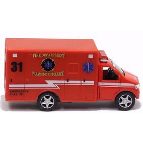 Miniatura Ambulância Original Especial Veículos De Serviço