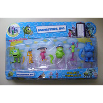 Monster University - Blister X 6 Muñecos - Art. Importado