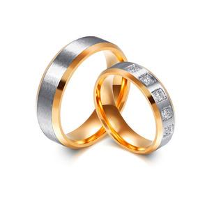Alianças Para Noivado Casamento Bodas Banhada Ouro E Prata