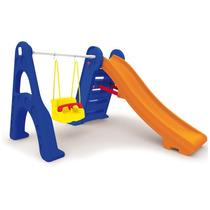 Brinquedo Para Playground Xalingo Escorregador Com Balanço