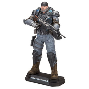 Marcus Fenix Old Gears Of War 4 Mcfarlane