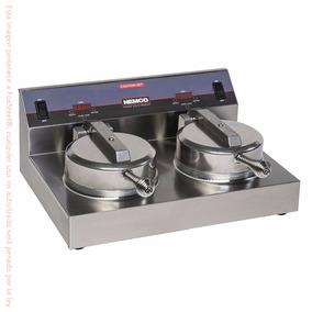 Wafflera Industrial Electrica Belga Doble 17 Cm Nemco 7000a