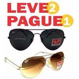 Ray Ban Pague 1 Leve 2 Rayban Aviador 3025 3026 Promoção