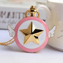 Genial Reloj De Bolsillo Sakura Card Captor