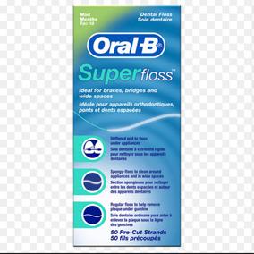 Hilo Oral B Superfloss /ortodoncia /protesis