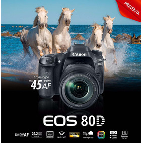 Canon 80d 18-135mm Is Stm (canon T6s 70d) Solo Efvo A 30k!!!