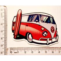 Adesivo Kombi Surf Hot Clube Club Van Volkswagen