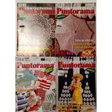 Puntorama Ganchillo Crochet Lote De 4 Revistas Tejido