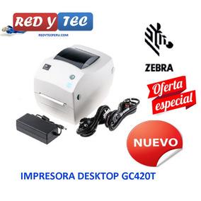 Oferta Impresora Zebra Gc420t Nuevo Garantia 1 Año Factura