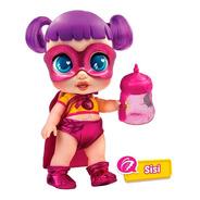 Muñeca Super Cuteez Heroes Con Luz Sonido Ropa En Cadia