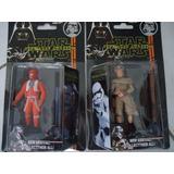 Kit 2 Boneco Rey/piloto Figura Star Wars Guerra Nas Estrelas
