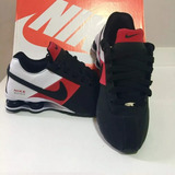 Inperdivel Tenis Nike Shox 4 Molas Homem Mulher Envio 24 Hrs
