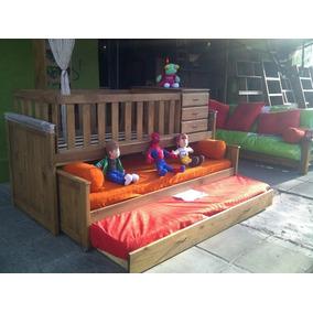 Muebles Tigre Cama Cuna Funcional En Madera Modelo Nido